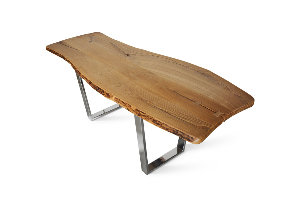 Etz & Steel Chardonnay Live Edge Table Chrome Base 2.jpg