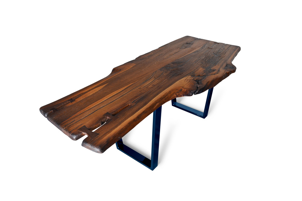 Etz & Steel Brown Beauty Live Edge Table Misty Midnight Base 1.jpg