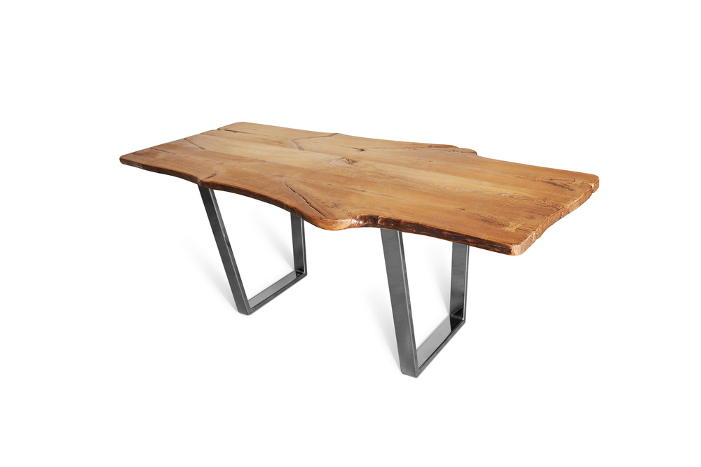 Etz & Steel King Ash Live Edge Table Chrome Base 2.jpg