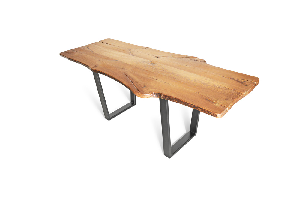 Etz & Steel King Ash Live Edge Table Dark Gray Base 1.jpg