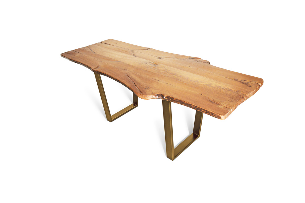 Etz & Steel King Ash Live Edge Table Gold Base 1.jpg