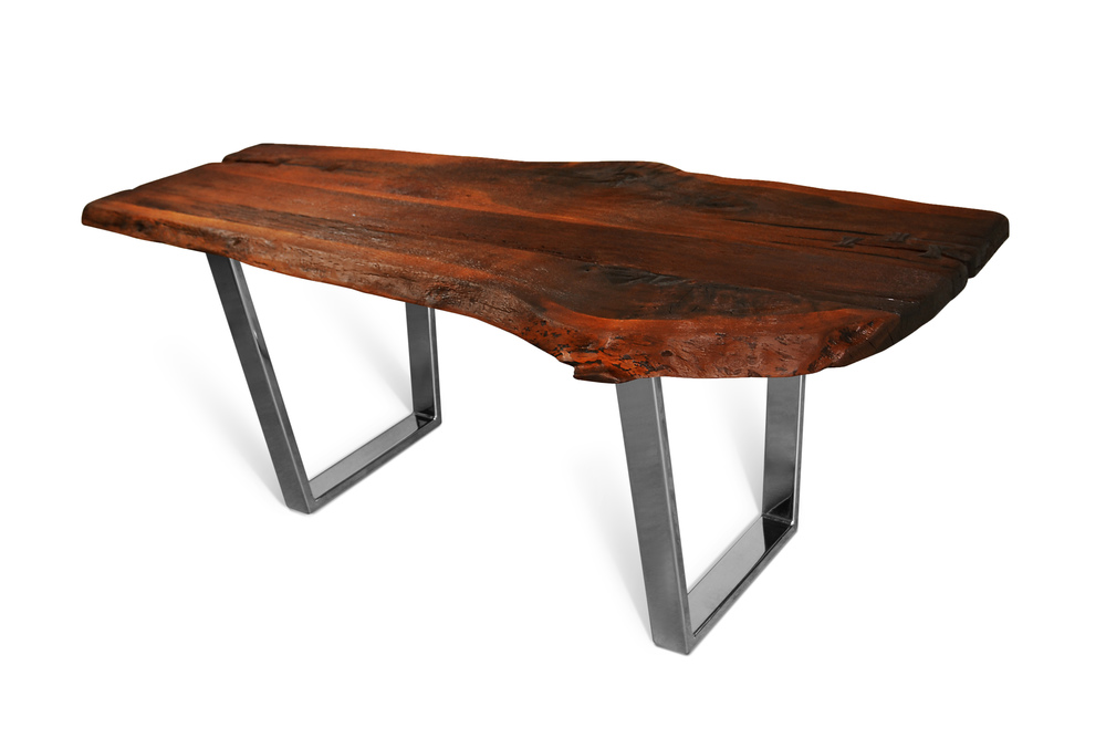 Etz & Steel Shark Tooth Live Edge Table Chrome Base 1.jpg