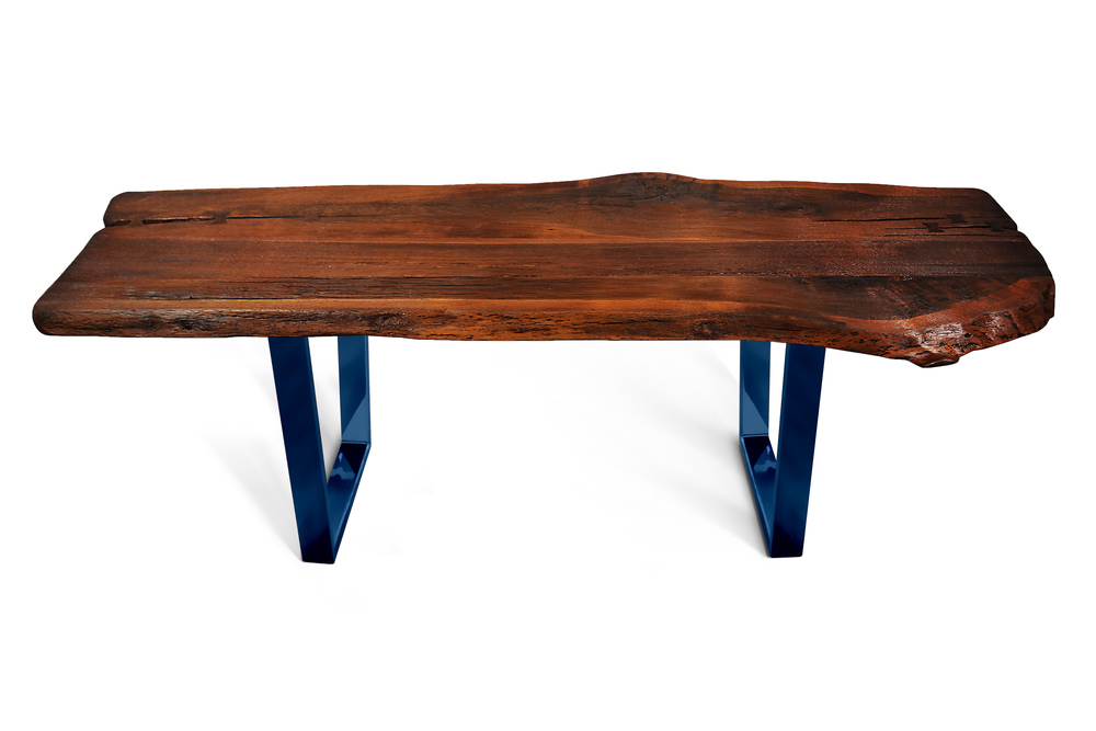 Etz & Steel Shark Tooth Live Edge Table Midnight Navy Blue Base 1.jpg