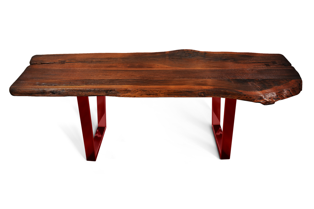 Etz & Steel Shark Tooth Live Edge Table Red Base 1.jpg