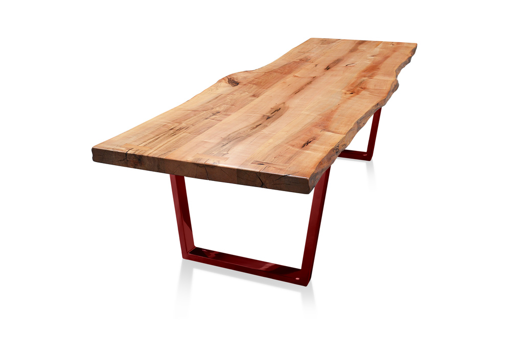 Etz & Steel Monarch Live Edge Table Lollypop Red Base 2.jpg