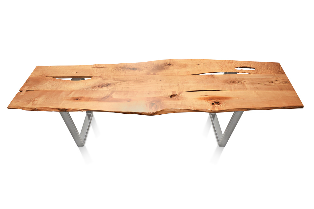 Etz & Steel Baron Live Edge Table Silver Nickel Base 1.jpg
