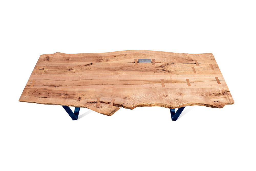Etz & Steel Rex Live Edge Table Midnight Navy Base 1.jpg