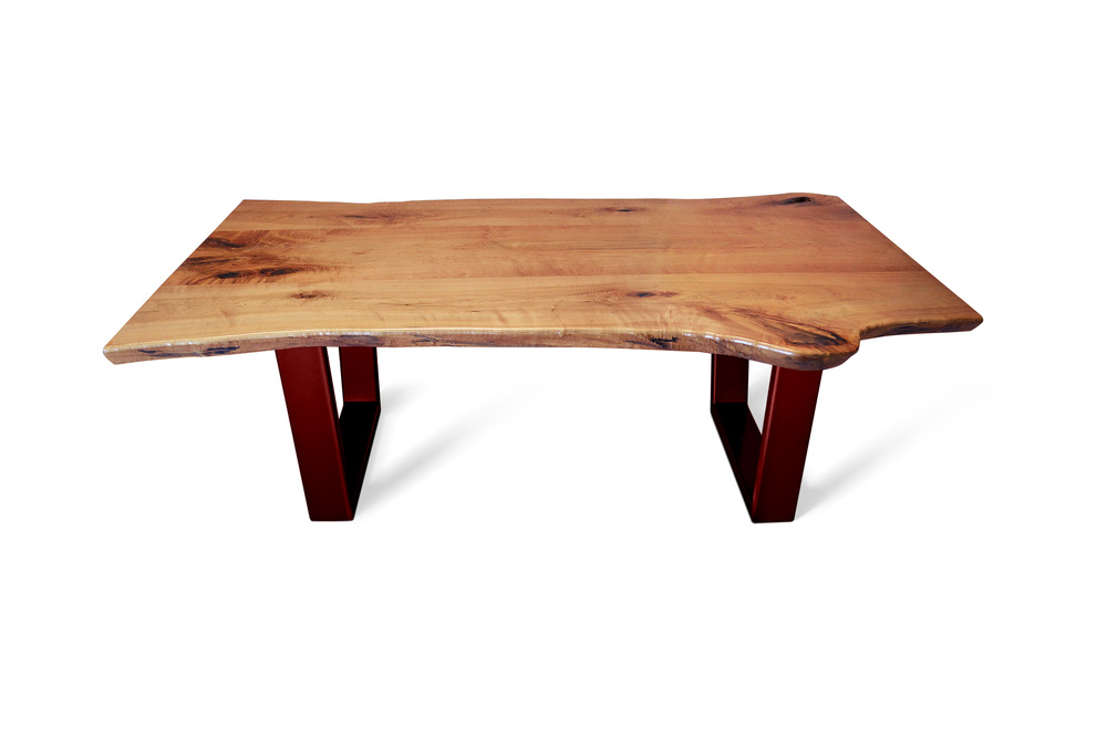 Etz & Steel Java Live Edge Table Red Base 1.jpg