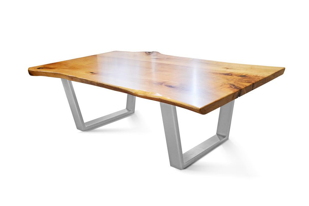 Etz & Steel Java Live Edge Table Silver Nickel Base 1.jpg