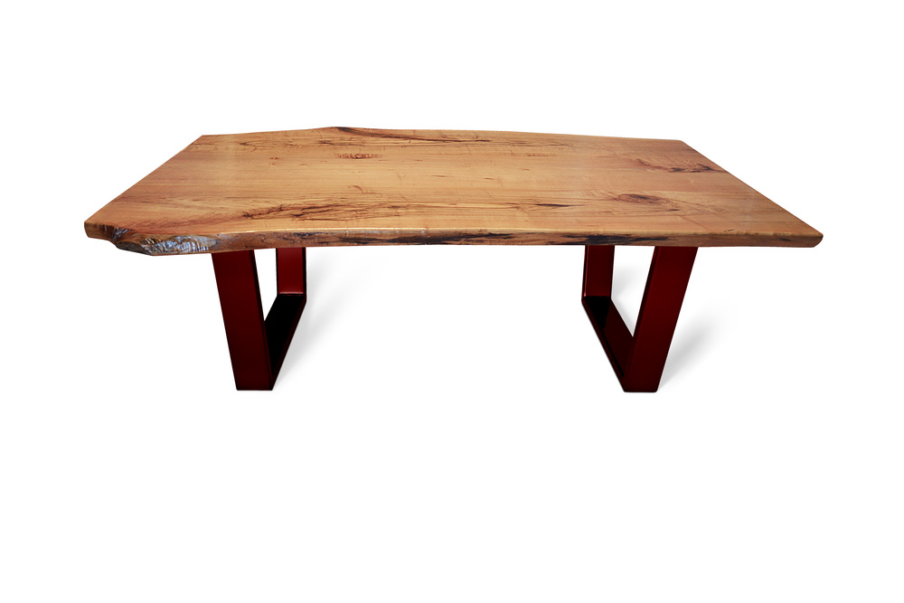 Etz & Steel Kona Live Edge Table Lollypop Red Base 1.jpg