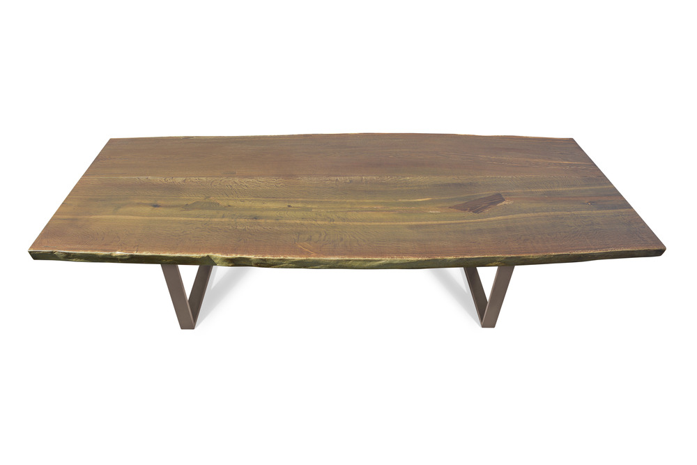 Etz & Steel Walden Live Edge Table Textured Bronze Base 1.jpg