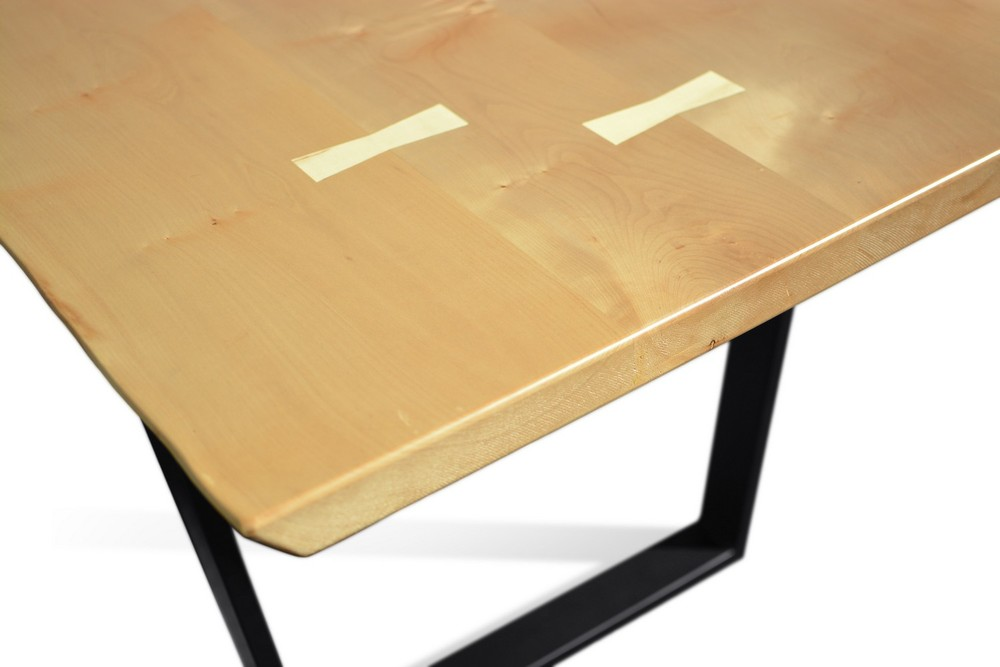 Etz & Steel Penelope Live Edge Hard Maple Table Close Up 8.jpg