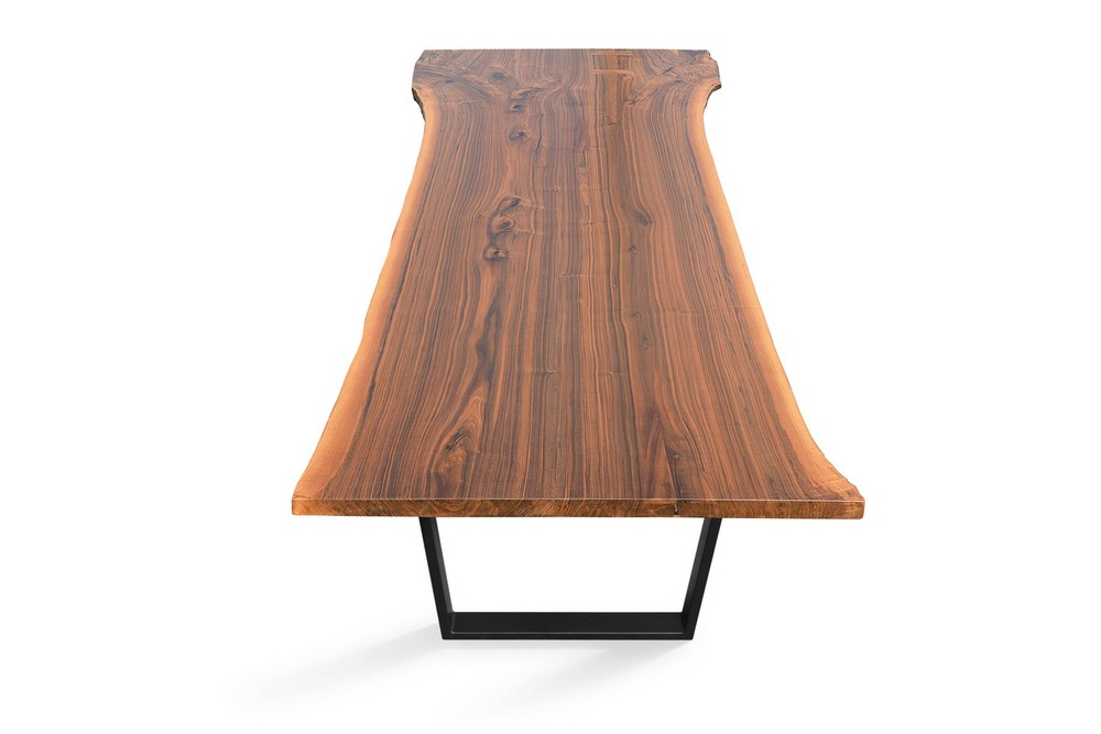 Etz & Steel Hermes Live Edge Walnut Table Black Base 3.jpg