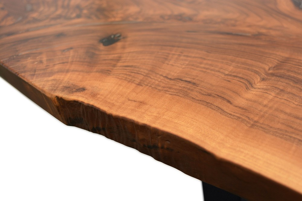 Etz & Steel Hermes Live Edge Walnut Table Close Up 12.jpg