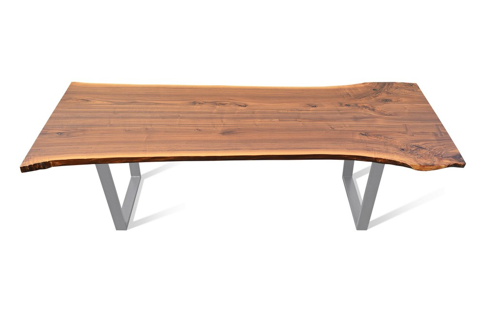 Etz & Steel Hermes Walnut Live Edge Table Silver Base 1.jpg