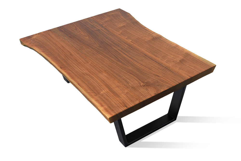 Etz & Steel Iris Live Edge Walnut Coffee Table Black Base 8.JPG