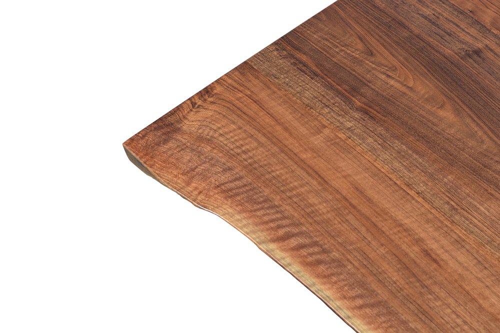 Etz & Steel Iris Live Edge Walnut Coffee Table Close Up 3.JPG