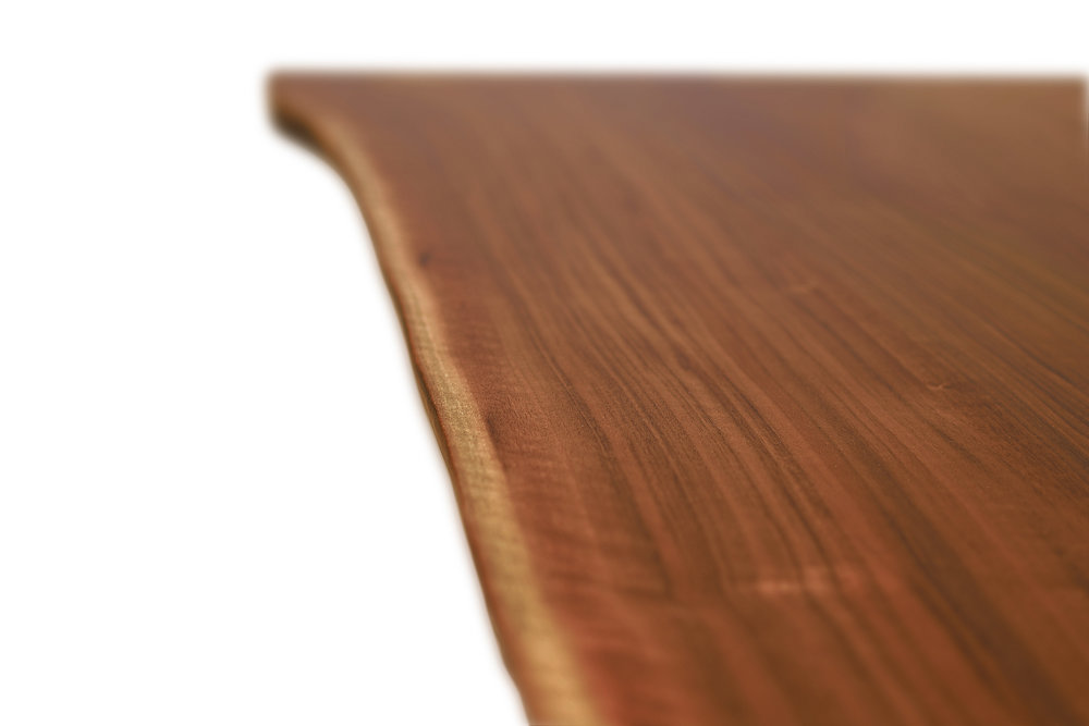 Etz & Steel Iris Live Edge Walnut Coffee Table Close Up 10.JPG