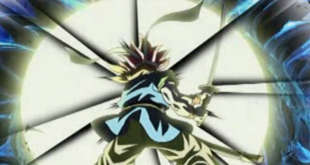 Spoiler alert: Crono fights some glowing cheese