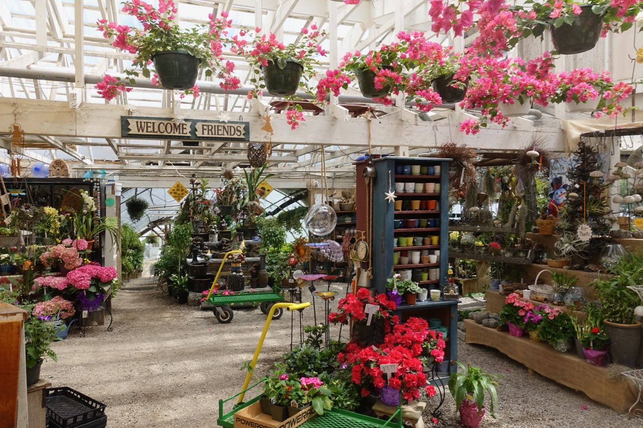 GARDEN CENTER | HOUSE BY THE SIDE OF THE ROAD | Wilton, NH