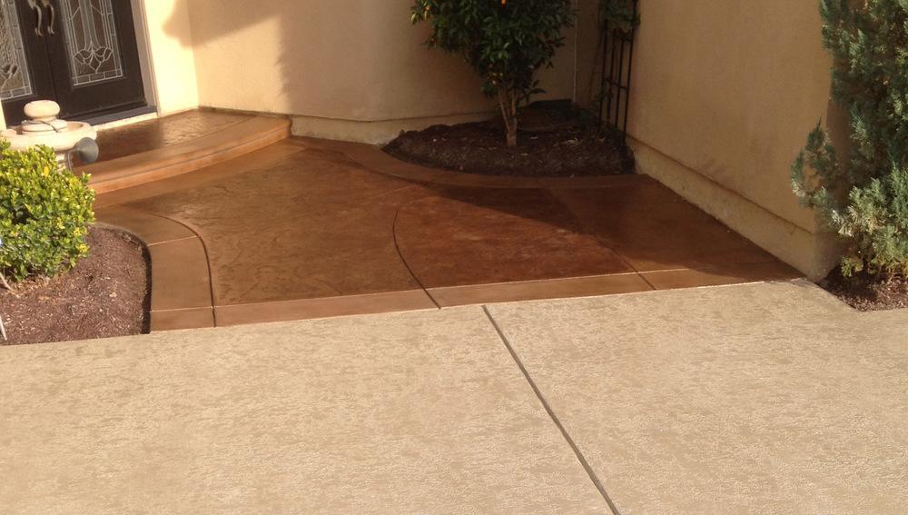 Exterior Concrete Staining Part 85