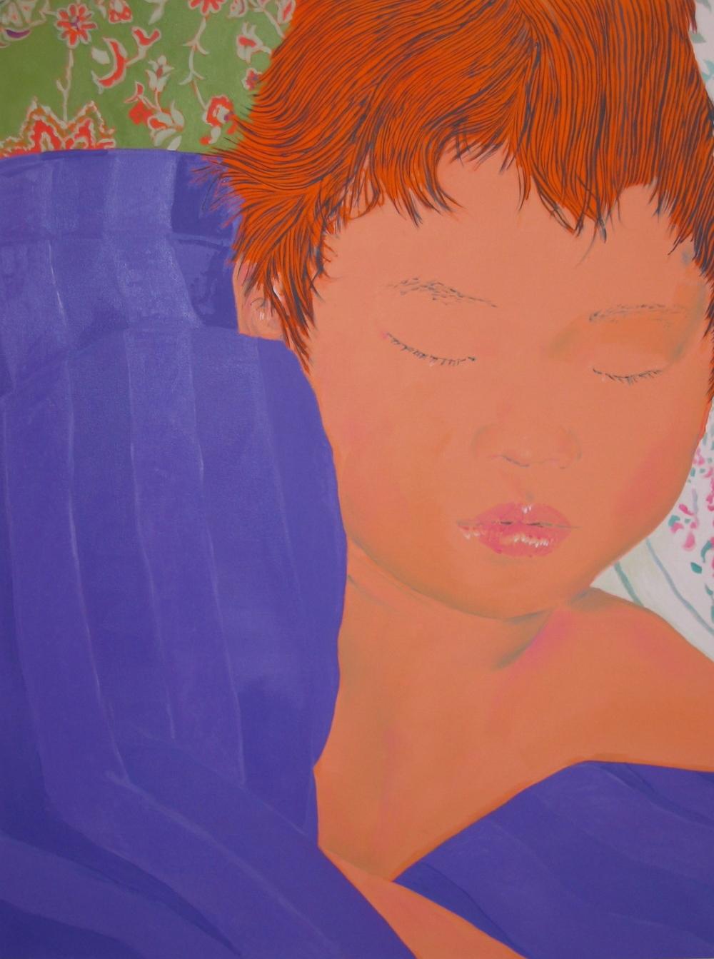 Kenji Sleeping