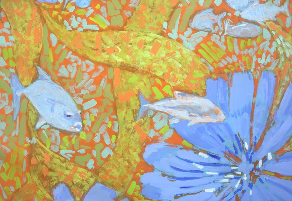 Flowers & Fish II