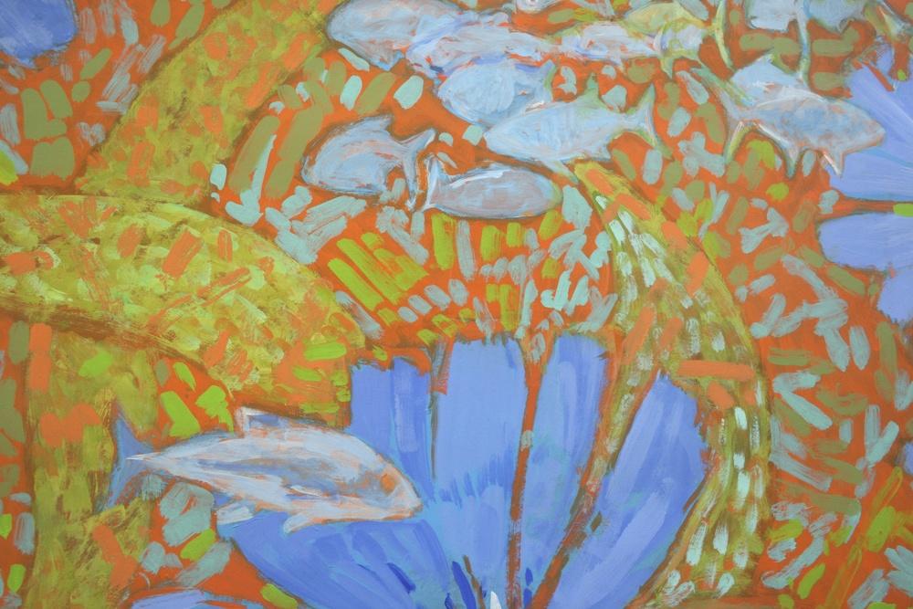 Flowers & Fish I