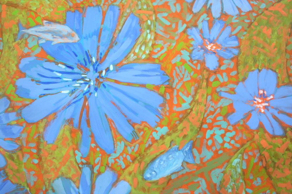 Flowers & Fish IV