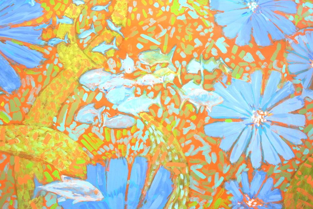 Flowers & Fish III