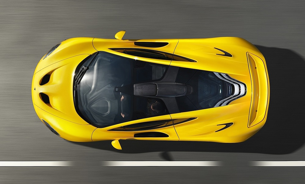 The Mclaren P1, arguably the most exciting electric car around