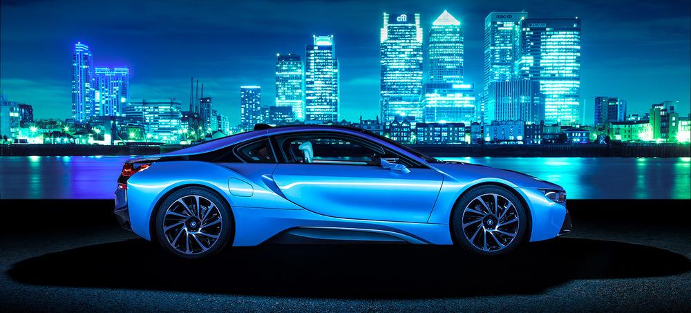 The striking BMW i8