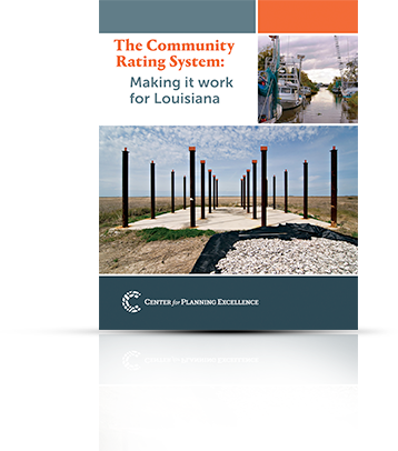 THE COMMUNITY RATING SYSTEM: MAKING IT WORK FOR LOUISIANA This first publication explores reasons behind the National Flood Insurance Program's Community Rating System's low participation rate, details the benefits of this incentive program to individuals and communities, and provides recommendations for maximizing the economic and risk mitigation benefits for Louisiana communities.