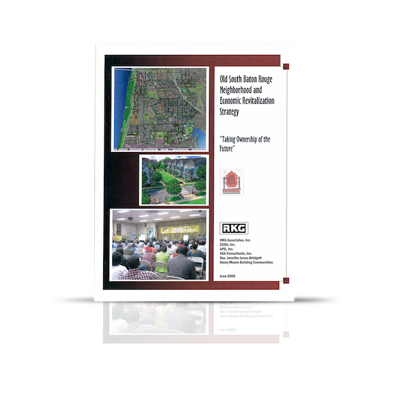 Old South Baton Rouge Neighborhood and Economic Revitalization Strategy (2006): the report relies on the best available information from both private and public sources, and includes extensive input from hundreds of Old South Baton Rouge residents and leaders