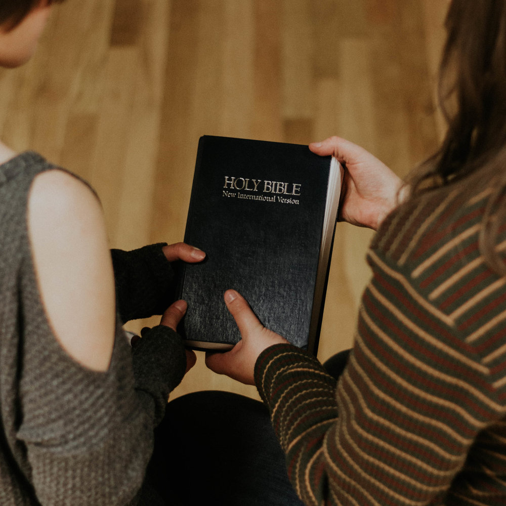 his bible was there waiting for him.jpg