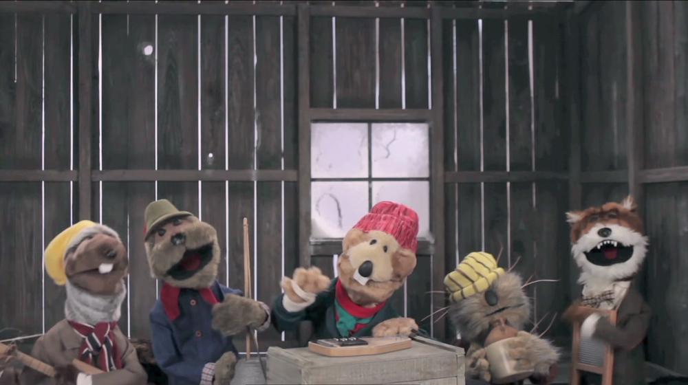 Emmet Otter & Frankie Fox. Robot Chicken Christmas Special 2013