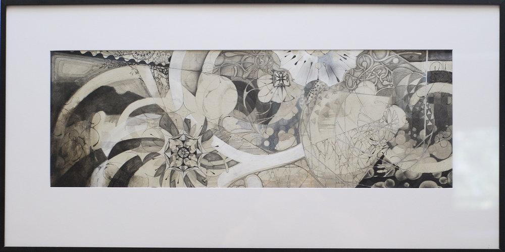 """Emergence, 18x36"""" 2010"""