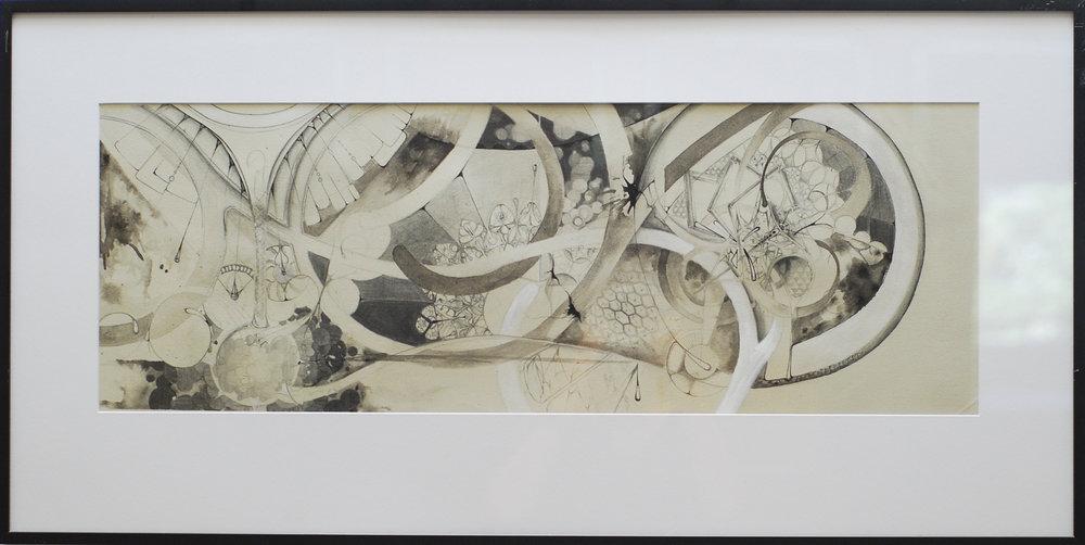 """Emergence 18x36"""" 2010"""