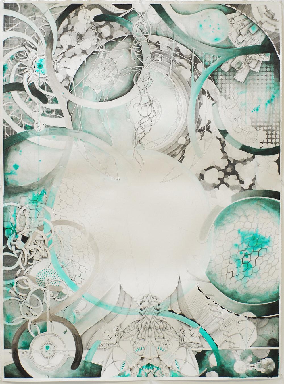 """Emergence 30x42"""" 2010"""