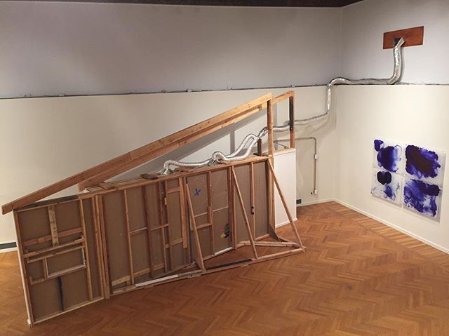 "Aerial view of my thesis installation ""Never Hide your Broken Bones."" Museum is open Tuesday-Sunday 10to4"
