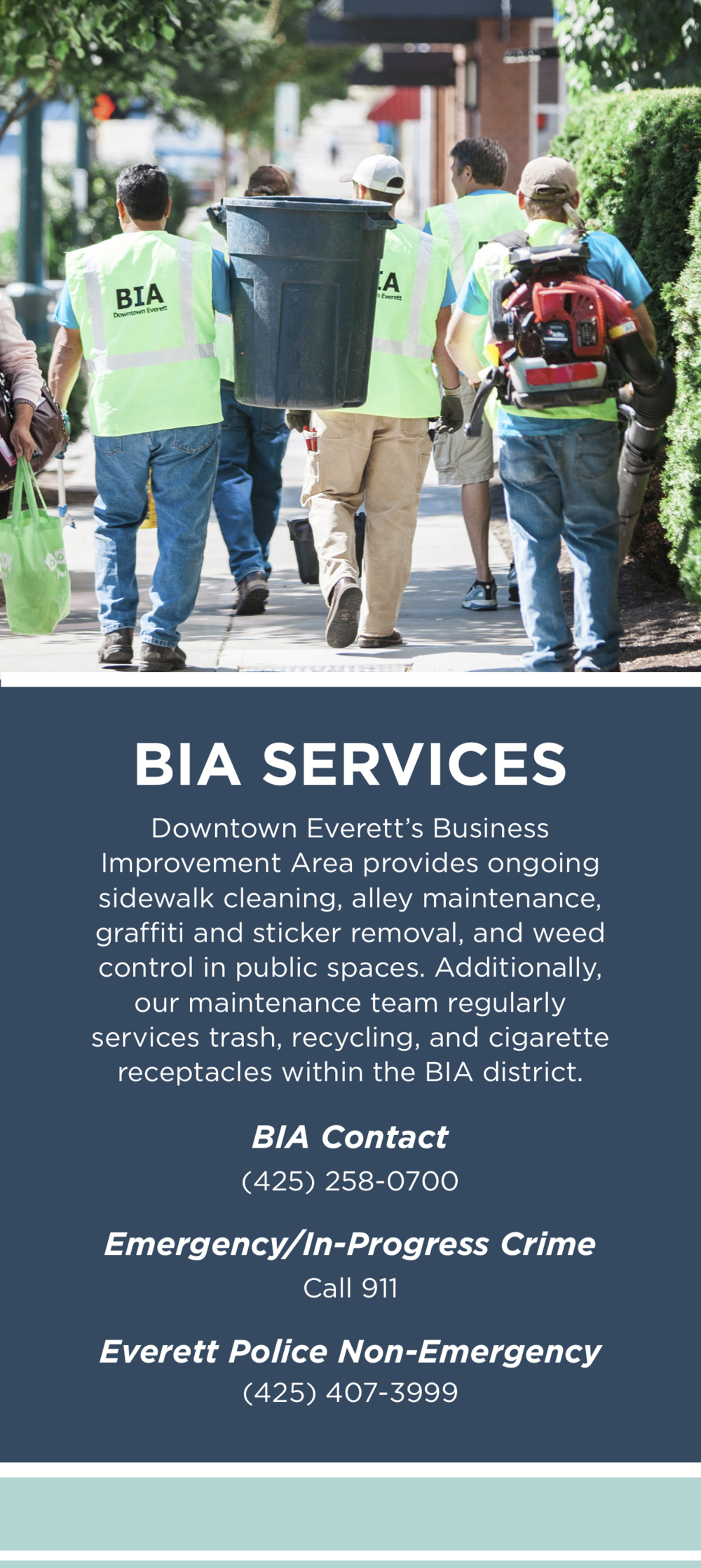 DEA & BIA Services Card