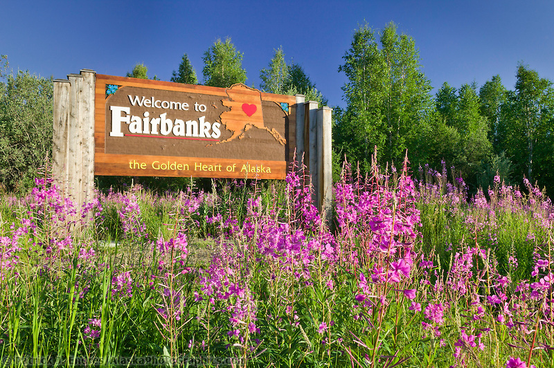 Image result for welcome to fairbanks