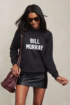 Bill Murray Sweatshirt at Reformation