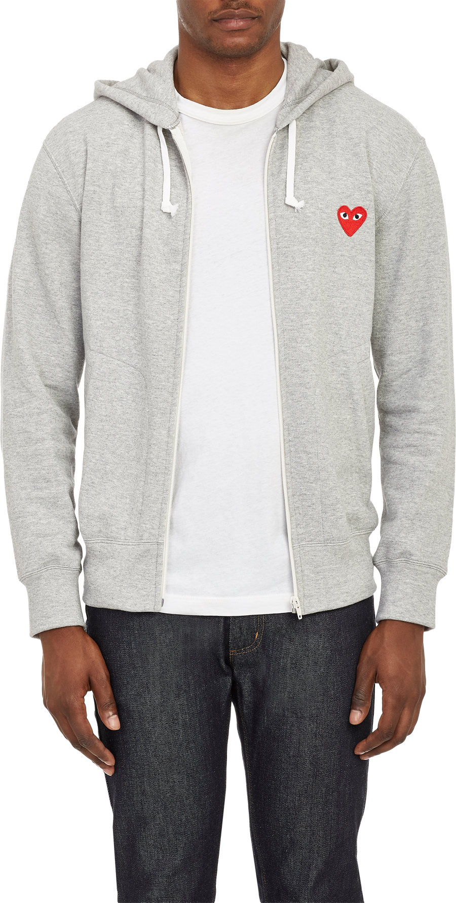 Comme des Garçons Play hoodie at Barneys New York