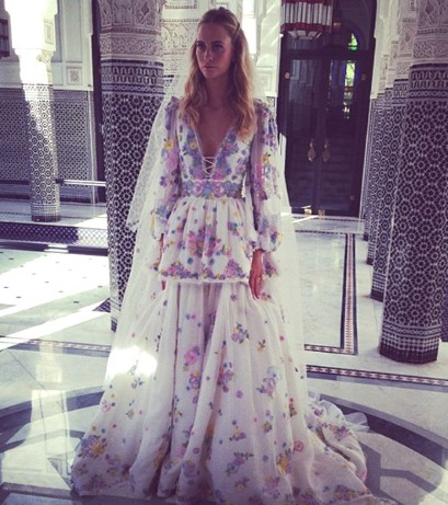 Poppy Delevingne in Pucci