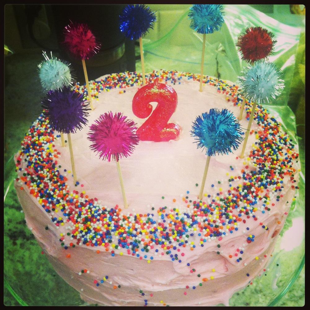 Coco's 2nd birthday cake
