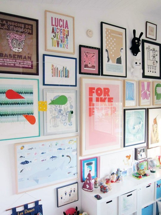 Gallery Wall- Apartment Therapy