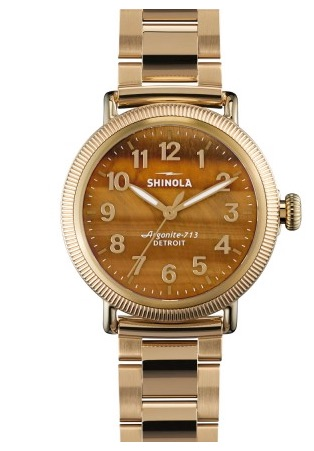Shinola Tigers Eye Watch