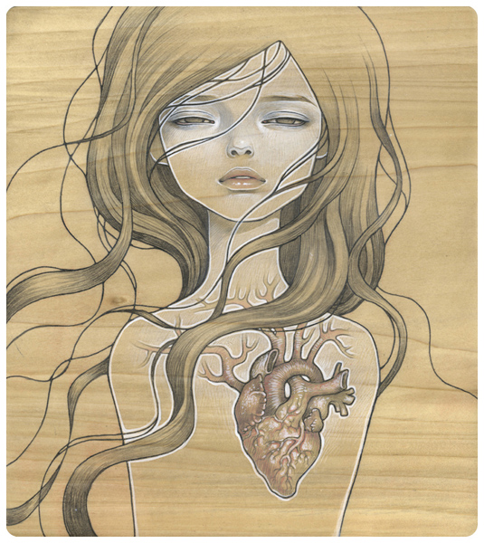 Audrey Kawasaki-  You will forever be a favorite obsession