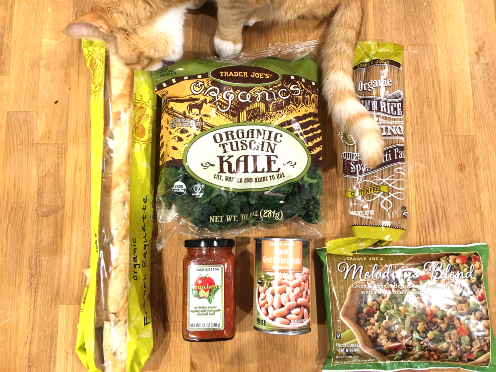 Even Waffles loves Trader Joes